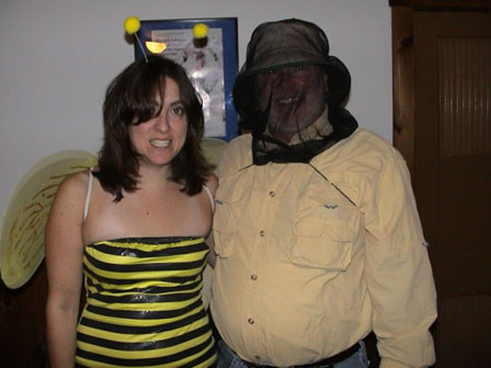 Ski Bees Halloween Photo